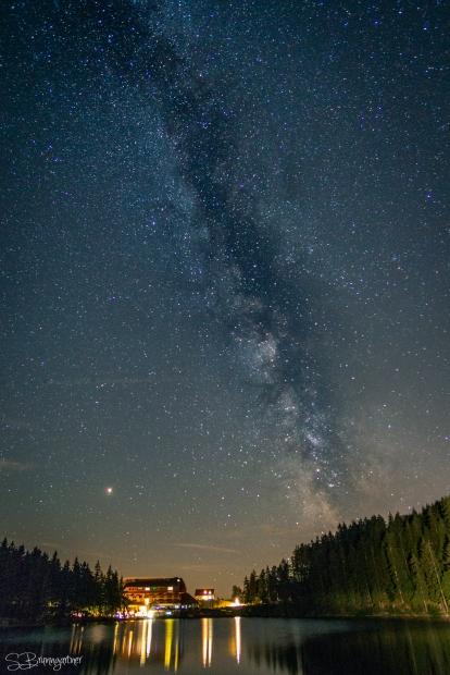 Milchstraße überm Mummelsee