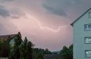 Gewitter über Gernsbach am 28.05.2018