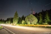Nachts an der Schwarzwaldhochstraße
